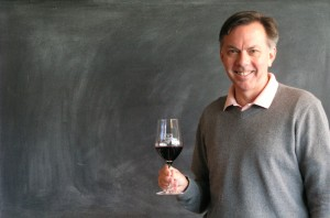 That's Jonathon Alsop grinning because he's got wine in his grasp. (Courtesy: Boston Wine School)